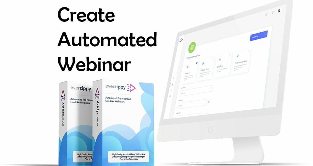 Everzippy Review - Create Automated Webinar With Best webinar tool