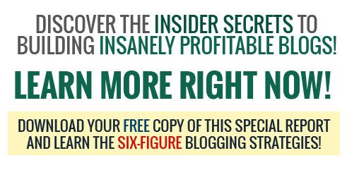 Discover the insider secrets to building insanely profitable blogs!