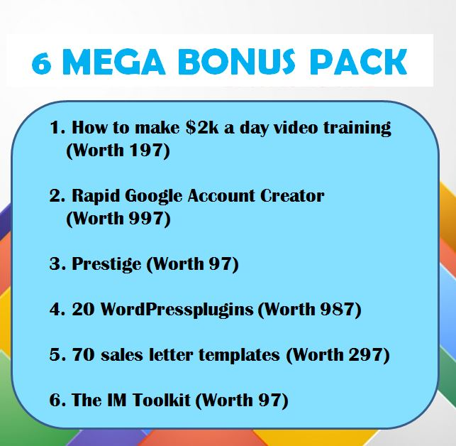 6 MEGA BONUS PACK Video Crusher Review