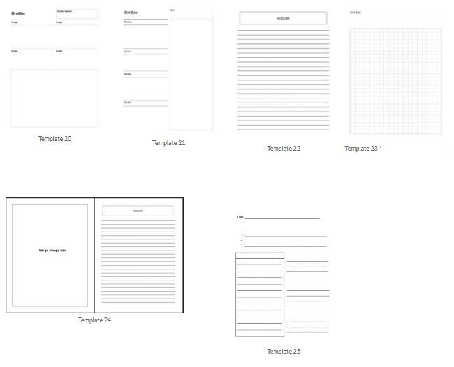 Standard Level Designs Journal Creators
