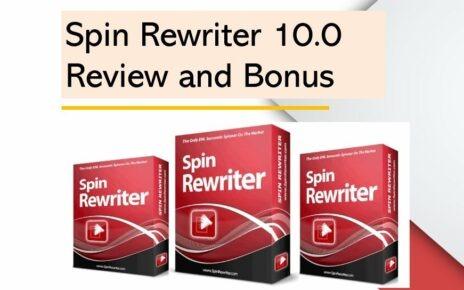 Spin Rewriter 10 Review and Huge Bonus