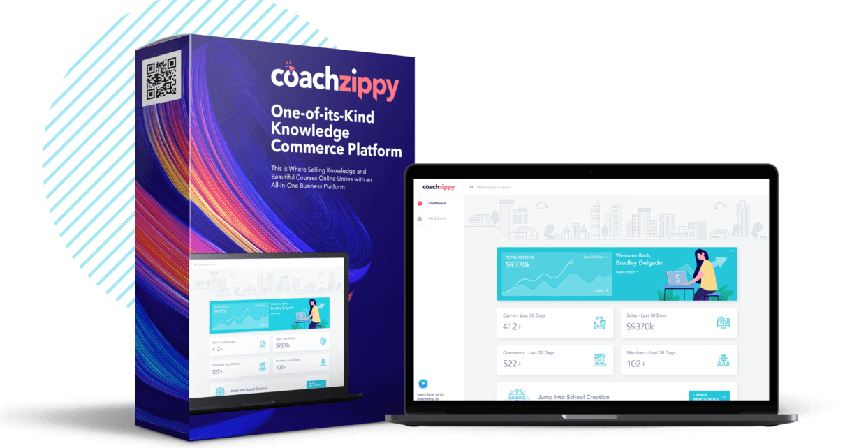 CoachZippy Review with Bonus - World's First Course Creation App