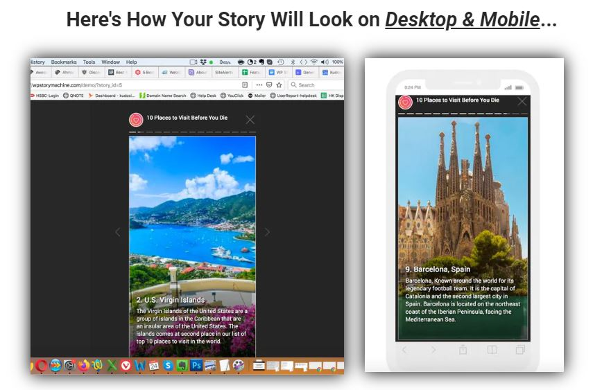 WP Story Machine Review - Step 4 Stories completed
