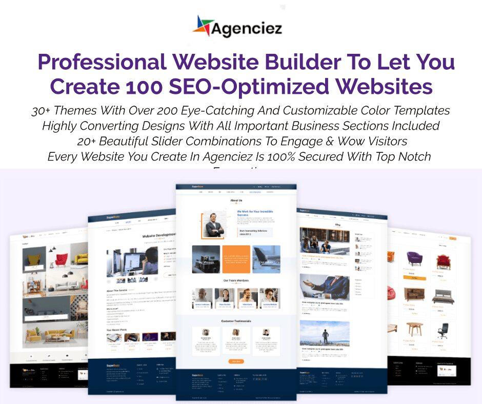Agenciez Review - Best SEO-Optimized Wordpress Website Builder 2020