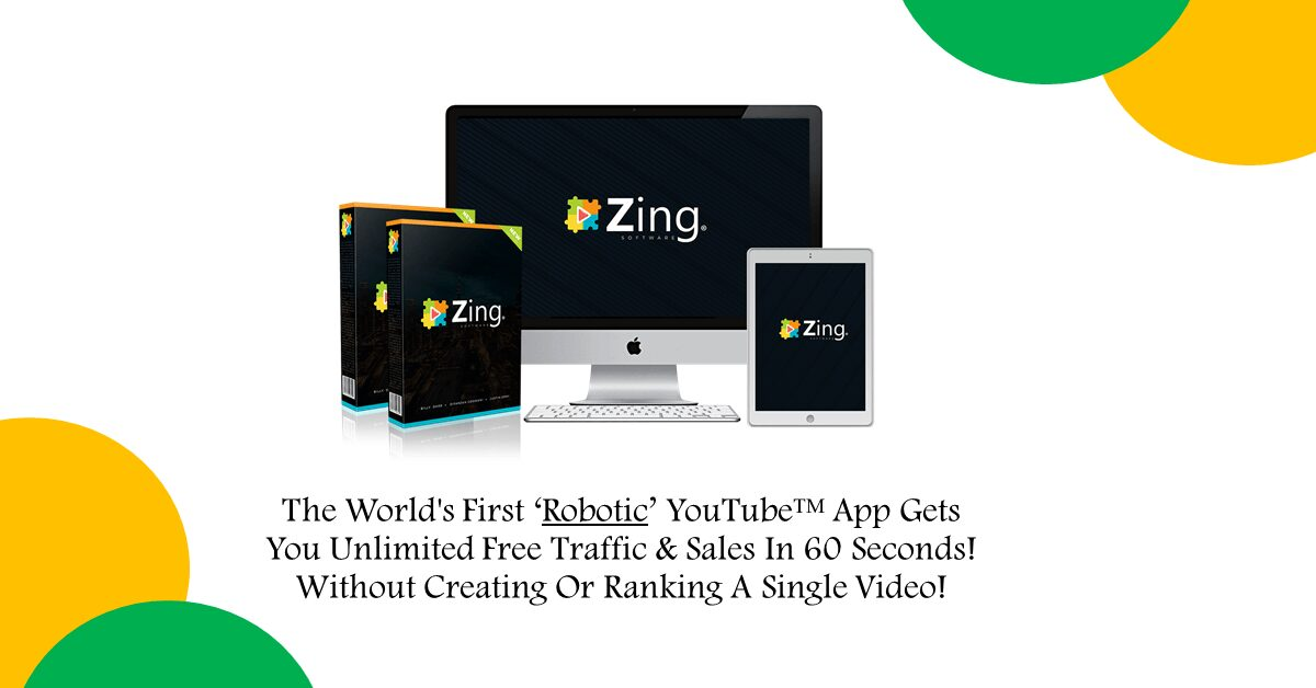 Zing Review - Youtube Traffic Generation Increase youtube traffic software apps by Billy Darr